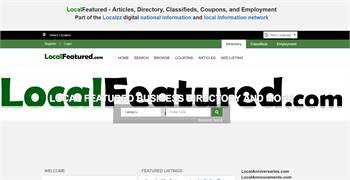 LocalFeatured.com - Directory for Business Listings, Classifieds, Employment