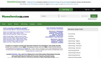 HomeServicezz.com - National to local business related information listings.